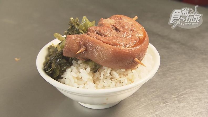 鹿港最平價!40元爌肉飯晚來吃不到,手切滷肉入口即化超下飯