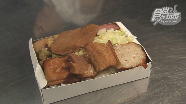 東北角限定!正統福隆便當1盒只要65元,滷瘦肉、高山高麗菜全都超下飯