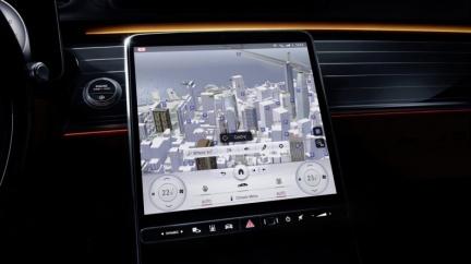 全新S-Class內裝設計曝光 最高配備5組液晶螢幕