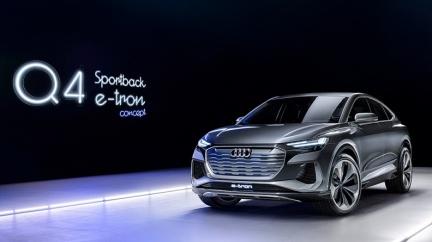 續航力突破500公里 Q4 Sportback e-tron預告明年量產
