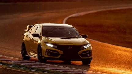 奪回鈴鹿最速前驅封號 Civic Type-R限量版寫下2分23.9秒成績