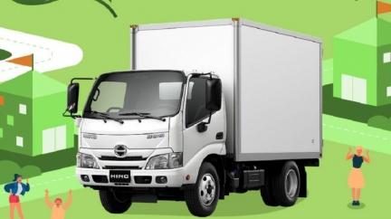 Hino五噸自排貨車上市 買車送尿素限時實施中