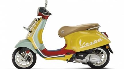 Vespa特仕車限量30台!  美國潮流金童聯名設計