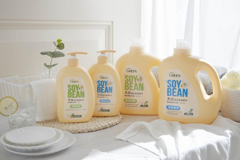 家中也要超前部署 來自大豆的潔淨力  以植系來源配方  溫柔呵護你的家人