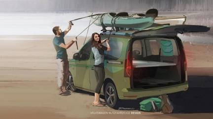 Caddy露營車預計9月發表 最小加州號即將登場