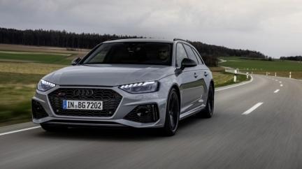 油電版RS 4預告2023年現身 Audi RS高性能車款將全面電動化