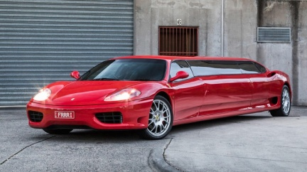 這不是合成圖! 加長版Ferrari禮車登上澳洲二手拍賣網