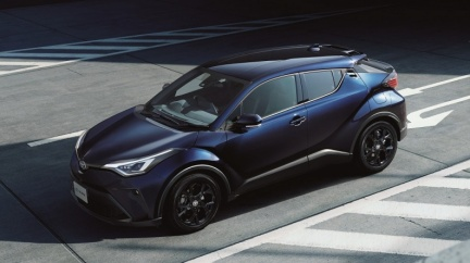 Toyota C-HR主安強化 升級車道維持與行人閃避