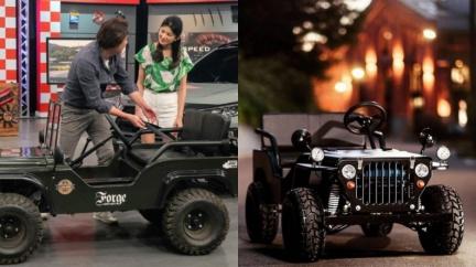 你看過小吉普嗎? Mini Jeep引進台灣囉!