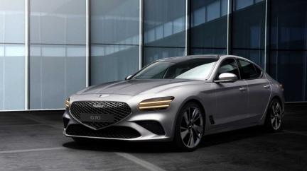 這款高顏值運動房車是這個國家設計! 小改款Genesis G70內外觀曝光
