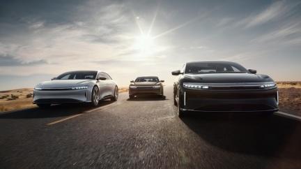 挑戰市售車「零四」最強紀錄 Lucid Air預告9月24日揭曉成績