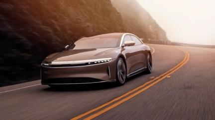 目標全球最強電動車 Lucid Air要把特斯拉打落神壇
