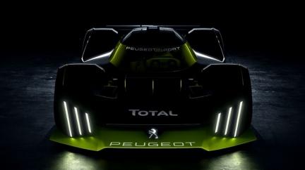 全球限量25部「超跑」即將誕生? Peugeot展示Le Mans賽車預告圖