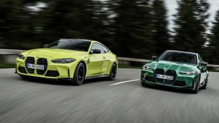 全新BMW M3、M4正式亮相 預計明年第二季抵台