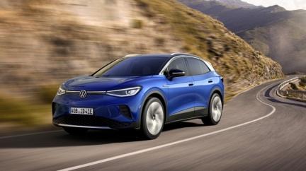 續航力520公里電動休旅 VW ID.4全球首演亮相