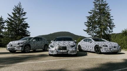 M-Benz EQS確定明年發表 後續還將推出SUV版本