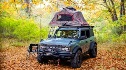 Ford Bronco Overland概念車亮相 以山林為家的最佳藍圖