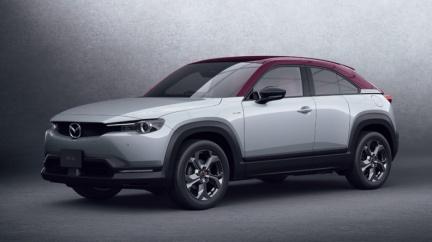 輕油電MX-30正式發表 純電版預計2021年1月登場
