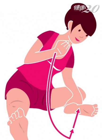 養生從腳下開始!圖解每天單腳按摩5分鐘,恢復精神健康慢老
