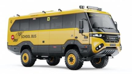 就算世界末日也得上學! 捷克汽車公司Torsus打造越野校車