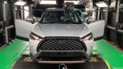 Corolla Cross年銷4萬輛野心後盾 國瑞汽車中壢產線揭密