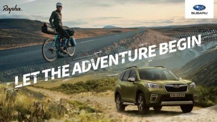 Subaru與英國單車服飾品牌合作 試乘抽Gore-Tex防水外套