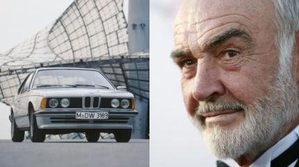 史恩康納萊愛名車 但車庫裡可不只英國車!