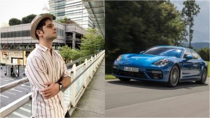 奶爸吳子龍獨愛Porsche 感嘆在義大利買房子比買車便宜