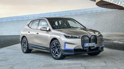 BMW iX電動休旅明年上市 馬力500匹續航高達600公里!