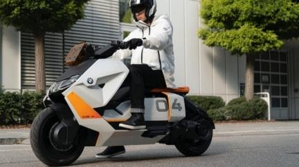 BMW發表電動概念速克達 Definition CE 04滿足通勤實用需求