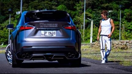 潘若迪改裝Lexus休旅車 外型搶眼、車內溫馨