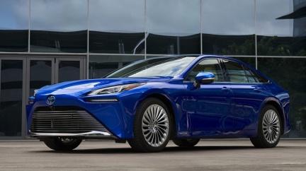 搶先預覽Toyota新「未來」 新世代氫燃料車質感安全同步升級