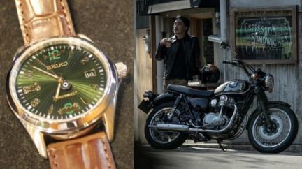 Kawasaki與Seiko首度推出聯名腕錶 價錢超「佛」卻意義非凡!