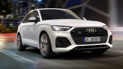 SQ5與SQ5 Sportback相繼亮相 電子渦輪柴油動力是焦點