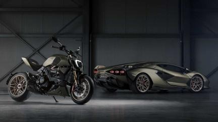 兩種願望一次滿足! Lamborghini與Ducati推聯名限量重機