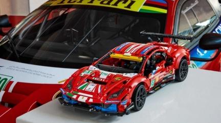 模型車控注意! 樂高Senna GTR、488 GTE即將登場
