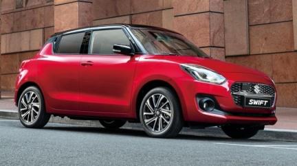 小改款Suzuki Swift預售價72萬起 搭載輕油電系統12/25正式上市