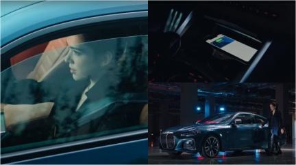 許瑋甯開BMW大展車技 4系列廣告重現影集拍攝現場