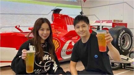 藝人林志穎客廳展示F1賽車 與車神舒馬克同款賽車!