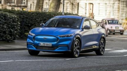 Mustang Mach-E還未開賣 Ford經銷商偷跑照外流