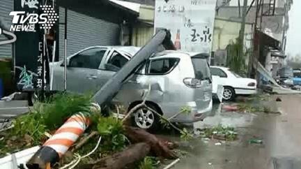 地震天災砸壞車 哪種保險才有賠?