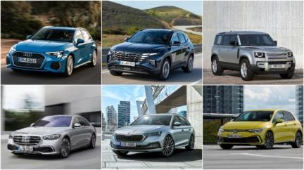 2021歐洲風雲車初選名單出爐 6款車今年陸續入臺