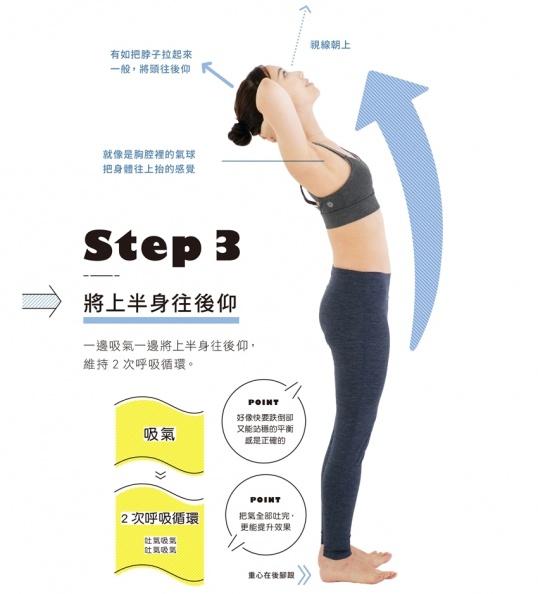 花10秒就能打造易瘦體質!把肚子往上拉提,到哪都能做
