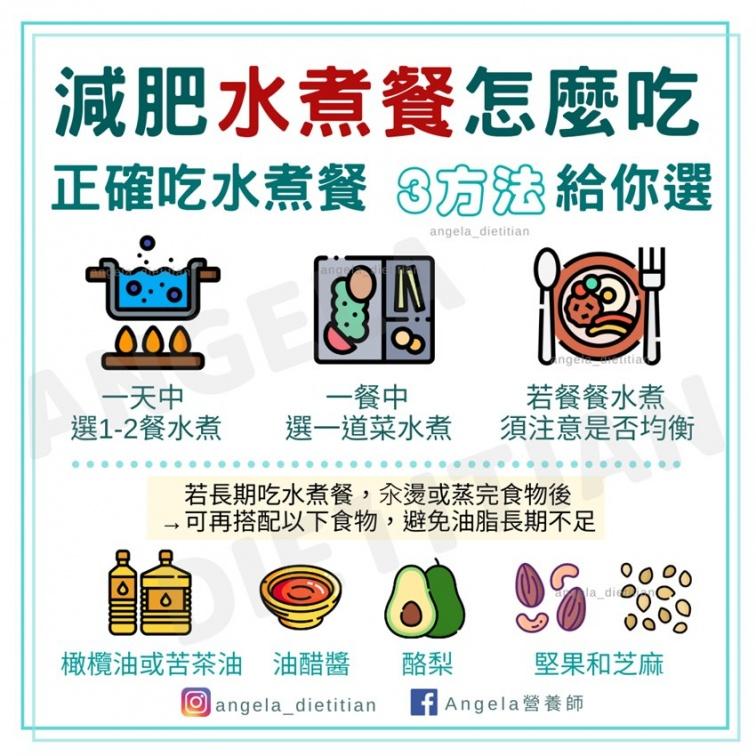 水煮餐吃對可以瘦,吃錯小心6個副作用!營養師教你水煮餐這樣吃更有風味