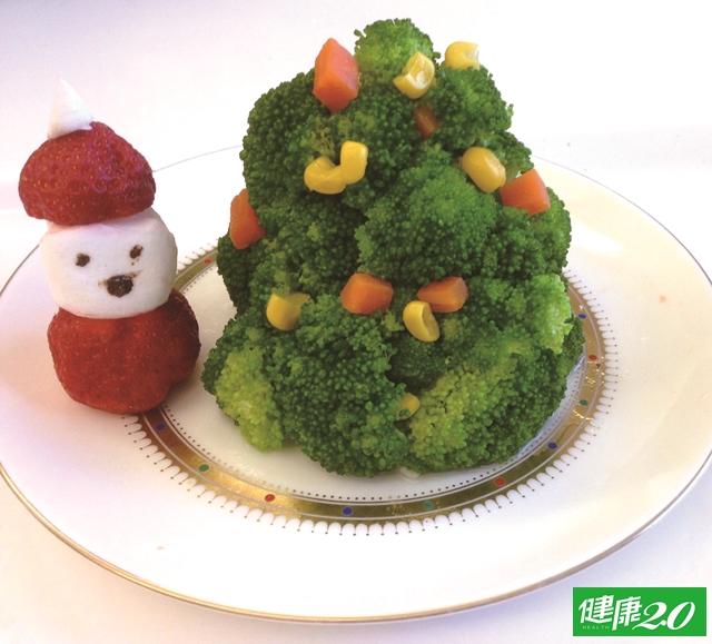 鄭凱云的主播媽媽經|花椰菜變耶誕樹