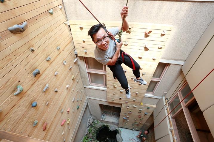 台南 老宅民宿不只美 還可以攀岩