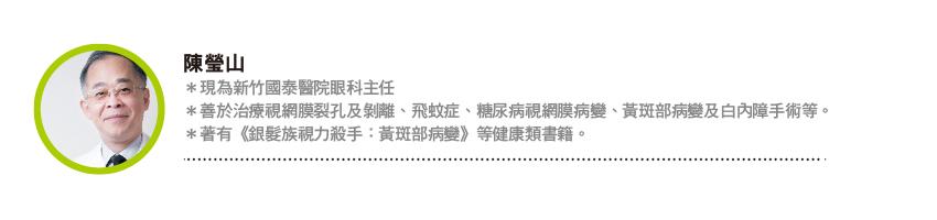 陳瑩山專欄|小心這個顏色! 黃斑部的「憂鬱殺手」