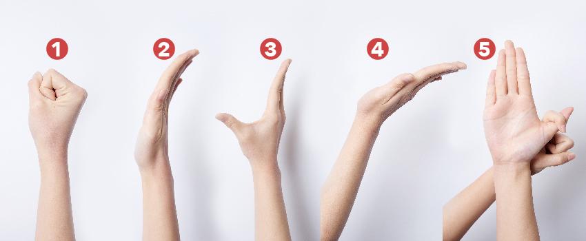 2種伸展運動 遠離腕隧道症候群