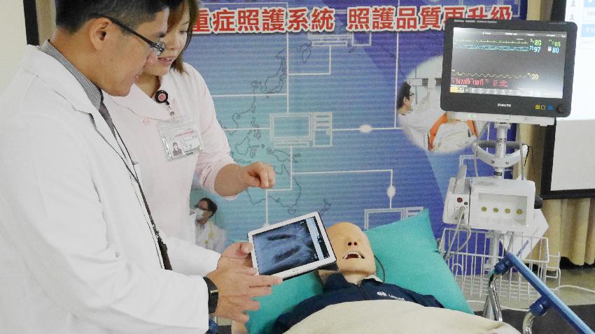 嗶、嗶… 科技管家「賈維斯」進駐加護病房