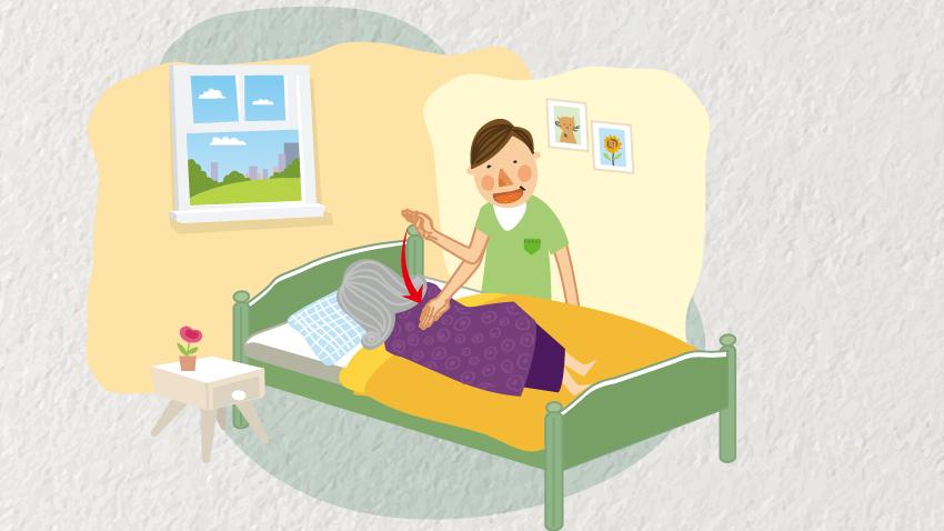 學會拍痰4步驟 年邁爸媽不再咳得臉紅脖粗